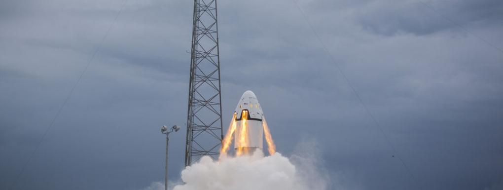 SpaceX Dragon Crew tesztje