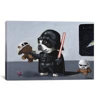 Mai kattanás: Star Wars kutyák vászonképen