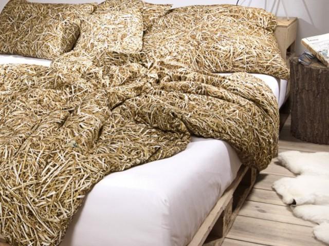 Szalma ágynemű - aludnál benne?