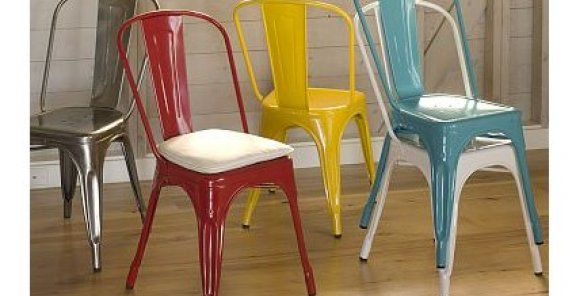 Metal Dining Chairs - Colored Cafe Chairs.jpeg
