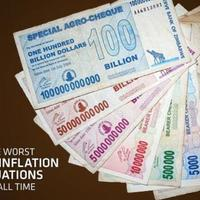 Minden idők legrosszabb hiperinflációi