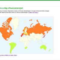 Kövesse nyomon az influenza terjedését a Google influnezatérképén!