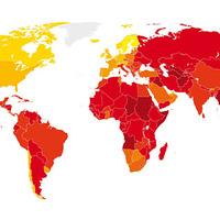 2010 korrupciós térképe