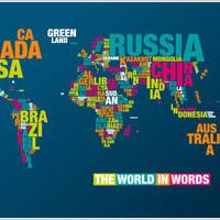A világ szavakban, avagy a tipográfia és geográfia találkozása