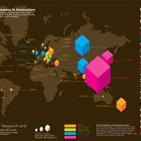 A világ innovációs térképe