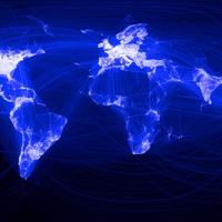 A Facebook kapcsolatrendszere világtérképen