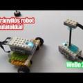Robotika: Kormányozható WeDo 2.0 robot fordulatokkal