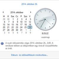 Vissza kell-e állítanom a Windows óráját?