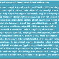 Vezetékes internet árak – az OECD élmezőnyében