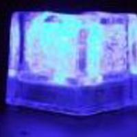 Világító jégkocka minta