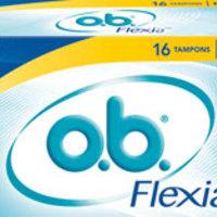 Ingyen o.b. Flexia tampon