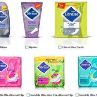Libresse ingyen termékminta