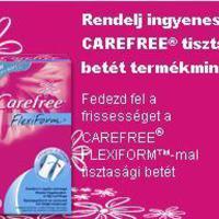 Carefree Flexiform tisztasági betét