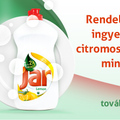 Ingyen termékminta (Ariel, Jar)