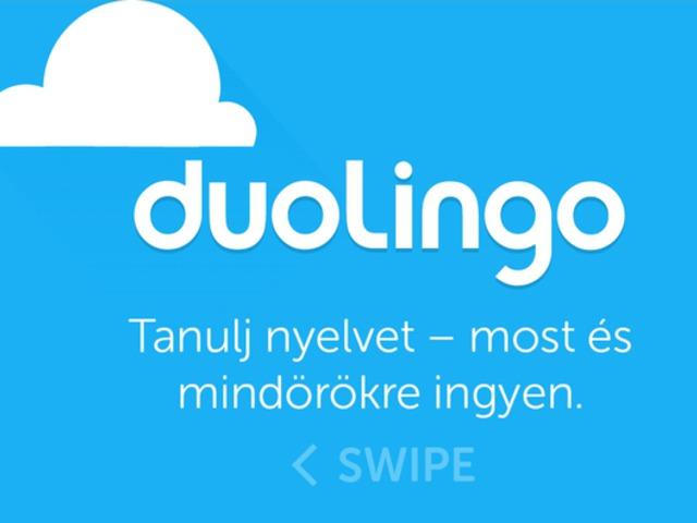 Angol nyelvtanulás (duolingo)