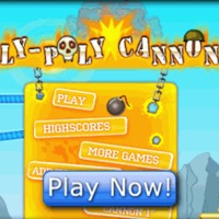 Ingyen online játék: Roly-Poly Cannon 2.