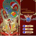 Ingyen online játék: Dragon Crystal Pinball