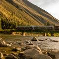 Vonattal a Machu Picchuhoz