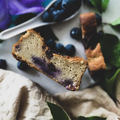 Glutenfree banana bread with blueberry