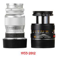 Leitz-Leica Elmar 90mm objektív története