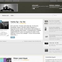 Honlap ajánló - http://fotokiallitas.info [16]