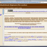 Honlap ajánló - Flesch Bálint: Fototechnika-Történeti (Egészen) Kis Lexikon, ARCHALTFOTOKONZERV [2]*