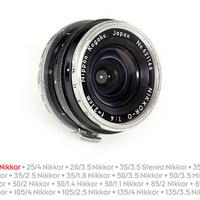 Nikon távmérős objektívek: Nikkor-O 21mm F4 [1]