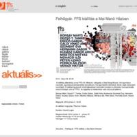 Honlap ajánló - FFS (fiatalok fotóművészeti stúdiója)