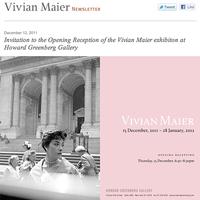Vivian Maier Newsletter