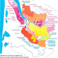 A Bordeaux bor régióról