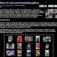 Nikon J1 képek a www.dpreview.com-n