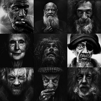 Best of 2012 - BLACK AND WHITE HOMELESS BY LEE JEFFRIES* (11.16)