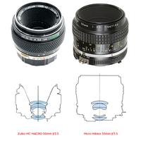 Zuiko MC MACRO 50mm f/3.5 és a Micro-Nikkor 55mm f/3.5*