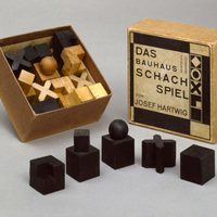 Bauhaus sakk-készlet | Josef Hartwig | 1923