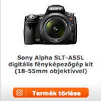 Sony Alpha SLT-55 és Sony NEX5