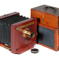 Régi fagépek - American Optical Co., Scovill Waterbury Type Camera [1]