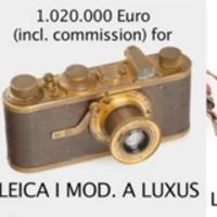 WestLicht fényképezőgép aukció, november 24.-én