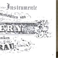 A Kern-Pillard története 1819-1950 [1]*