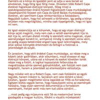 Könyvajánló - Robert Capa: Kissé elmosódva, hozzászólás [Widking 2010.10.22. 13:50:03]