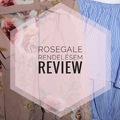 Nyári Rosegal Rendelésem - Review