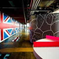 Inspiráló környezet a Google londoni irodájában [20 fotó]