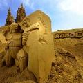 A világ legnagyobb homokszobor fesztiválja