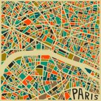 Várostérképek művészi szintre emelve