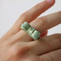 DIY: glitteres masnis gyűrű