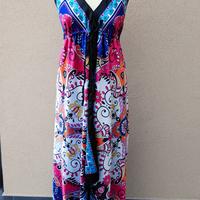 Selyemkendőből csinos nyári ruha varrása