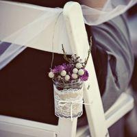 Szép,  egyszerű és stílusos esküvői dekoráció
