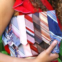 Kistáska nyakkendőkből