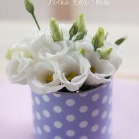 Konzervdobozból helyes kis váza készítése