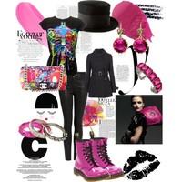 MyStyle - Pink, fekete, tarka