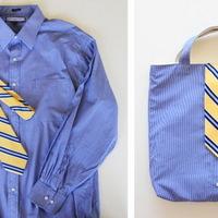 Hogyan lesz 1 ingből és 1 nyakkendőből táska?
